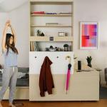 重新定義「2房1廳」的活動櫃