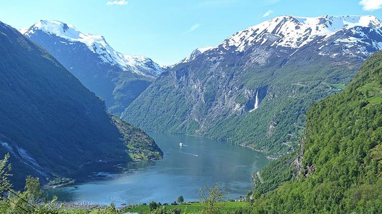 挪威的人間仙境-蓋朗格小鎮