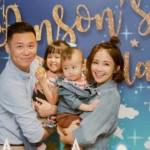鍾欣怡帶兒女到育幼院送物資,不要忽視身教的影響力!