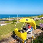 【北海岸新玩法】彩色河豚造型、海底世界隧道,帶孩子體驗可愛活潑的「鐵道自行車之旅」