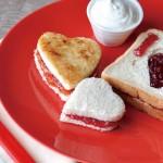 表達浪漫的麵包