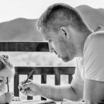 父親離世前寫給兒子的手扎