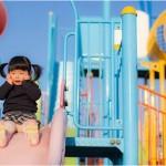 家長當心!抱孩子溜滑梯可能造成骨折
