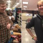 胖男走路上學減重百磅