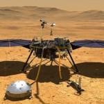 """美國宇航局的""""洞察號"""" 第一次探測到火星地震"""