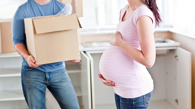 懷孕期間搬家可能會增加早產風險?
