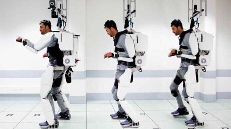 醫療新科技 癱瘓者心智控制行走器