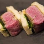 美金175元的神戶牛排三明治