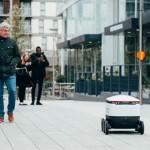 機器人送餐服務在英國封城大放異彩