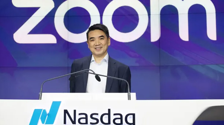 Zoom創辦人淨資產隨疫情增加40億美元