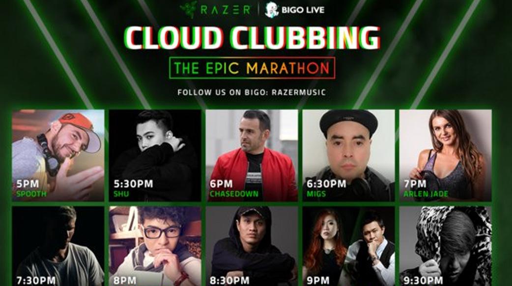在雲蹦迪取得成功之後,Bigo Live和Razer升級舉辦音樂節