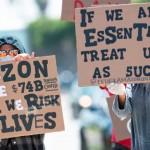 亞馬遜鎮壓及解僱抗議勞工