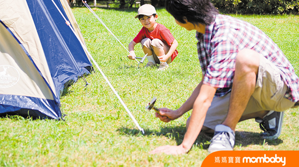 愛露營的小孩都比較獨立?主動安排時間、能合作、愛社交…在露營中引導孩子學習自理能力