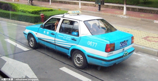 令人不敢恭維的大陸出租車
