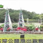 花博公園展出聖誕花卉