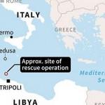 地中海史上最慘重偷渡船難 「難民墳場」再葬身700人
