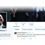 盼了六年,美國總統歐巴馬終於有自己的推特帳號:@POTUS