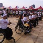 肢體障礙者跑3K 享受向前衝的自由感