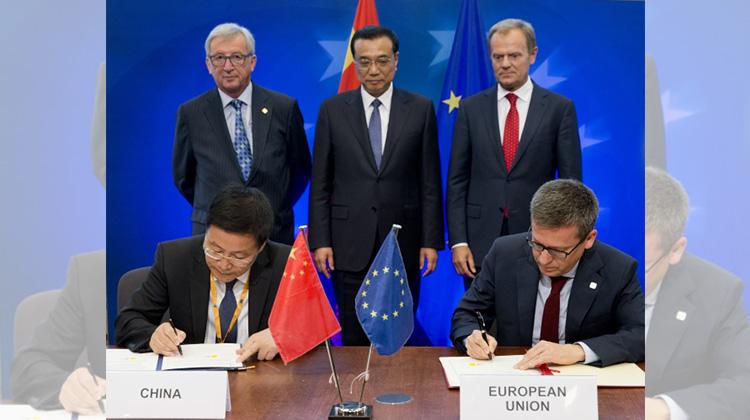 中國積極拓展與歐盟經貿外交