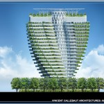 未來巴黎智慧城將充滿綠色摩天大廈