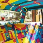 印度孟買小黃化身為行動藝術車