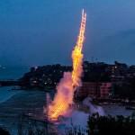 20年磨一劍,爆破藝術家蔡國強的火之天梯
