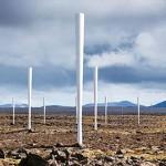 一根竿子發電 屋頂變身風電場