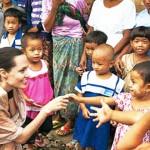 聯合國難民署特使 安潔莉娜裘莉