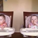 超萌雙胞胎寶寶搞笑視頻集錦