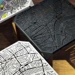 鏤空倫敦地圖小邊桌,邊喝咖啡邊思考要去哪兒玩的好幫手~