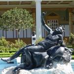 依山傍水的洛杉磯蓋提莊園博物館