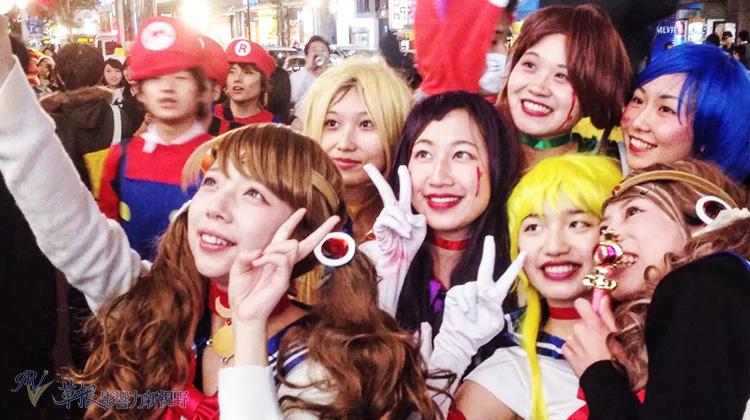 東京萬聖節,豐富多彩的裝扮世界