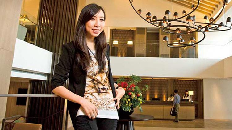黃郁婷28歲 砸四十億改造老旅館 參考好友埃及首富女兒瑞士蓋飯店靈感