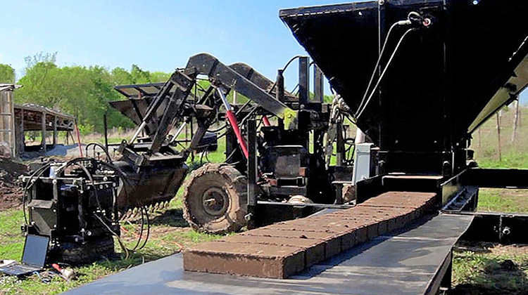 泥土也可以列印成堅固的防火磚