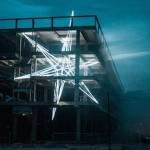 無死角的美感!與廢棄建築完美融合的裝置藝術「The Star」