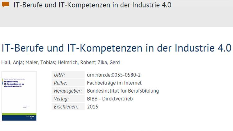 迎接工業4.0 德國已備足夠專才