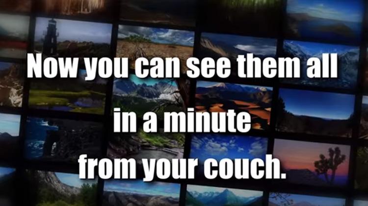 一分鐘看遍美國國家公園