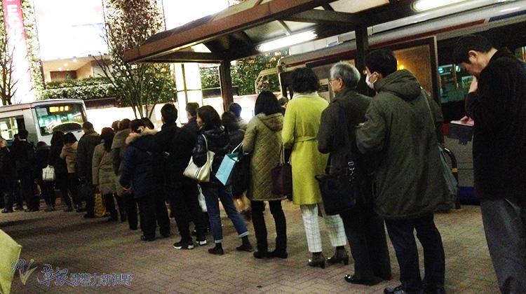 日本人在生活中對秩序的遵守