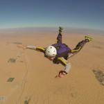 考取跳傘A證