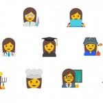 Google推出專業女性的表情符號