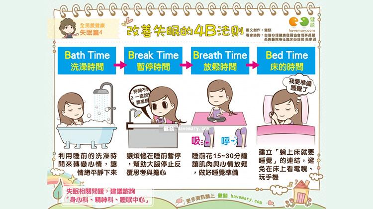 改善失眠的4B法則|全民愛健康 失眠篇4