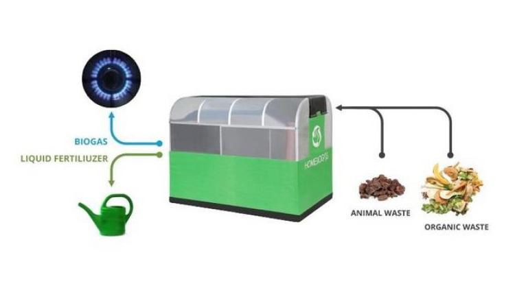 這台機器把你每天的廚餘,轉換為足以烹調三餐的天然瓦斯,還能幫助貧窮社區