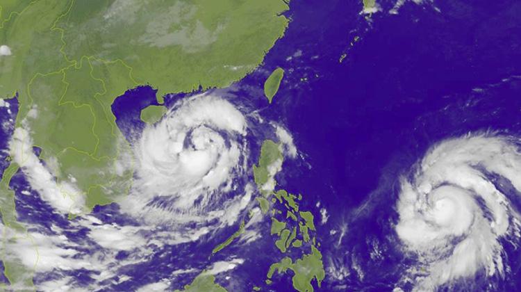 又是雙颱!「海馬」預估後天達中颱上限或強颱