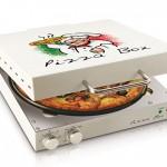 專烤披薩的披薩盒
