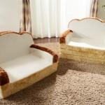 可愛的吐司沙發還有沙發床