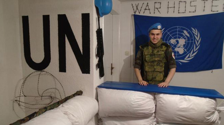 歐洲火藥庫上的「戰爭旅館」:將昔日戰爭的夢靨,化為旅人難忘的一夜