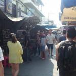 東南亞國家警察取締小吃攤