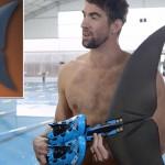 高科技魚尾能幫助菲爾普斯贏得與鯊魚的比賽嗎?