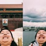 【好煩喔但想追蹤】她用「雙下巴」旅行自拍,對抗 Instagram 假掰網美照
