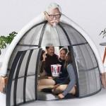 來肯德基爺爺懷抱 給你一個吃炸雞不受干擾的空間